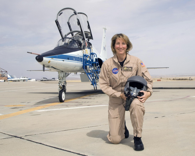 Kelly Latimer:  Dryden's First Female Research Test Pilot