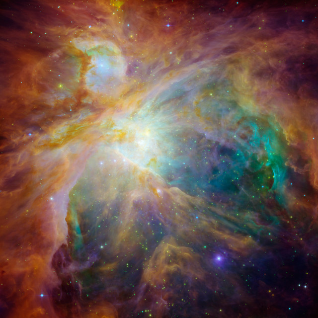 Chaos at the Heart of the Orion Nebula