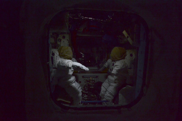 Night Aboard the Space Station